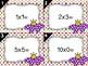 Flower Power Multiplication Task Cards SCOOT