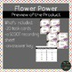 Flower Power Multiplication Task Cards SCOOT