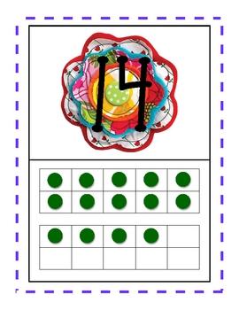 Flower Power Number Match 1-20