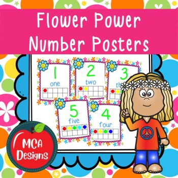 Flower Power - Number Posters