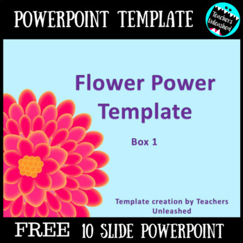 Powerpoint Template Freebie By Teachers Unleashed Tpt