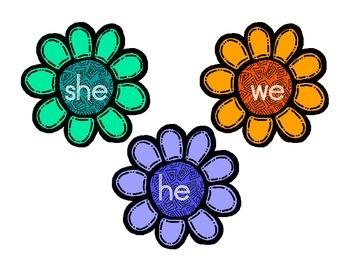 Flower Power Pronouns