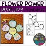 Flower Power Retelling Printables