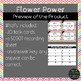 Flower Power Rhymes Task Cards SCOOT
