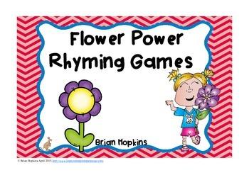 Flower Power Rhyming Games