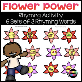 Flower Power Rhyming Words