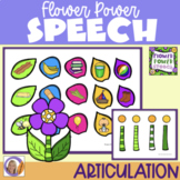 Articulation Game for speech and language therapy: Flower Power Speech