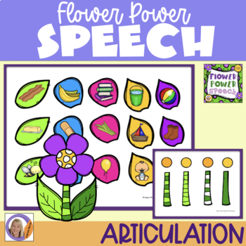 Articulation Game: Flower Power Speech