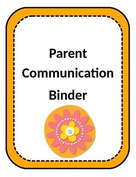 Flower Power Themed Binder Covers