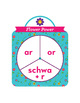 Flower Power or, ar, schwa + r Phonics Game - Words Their Way Game