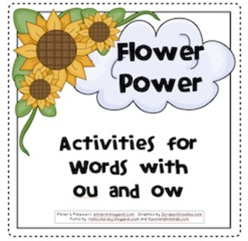 Flower Power -- ou/ow words