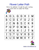Flower PreK Printable Learning Pack - Part 1