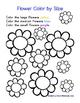Flower PreK Printable Learning Pack - Part 2