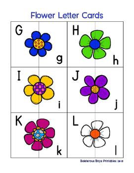 Flower PreK Printable Learning Pack - Part 3