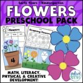 Flower Preschool Pack (spring, hands on learning, morning