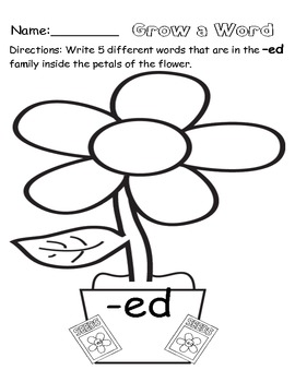 Flower Printables and Worksheets