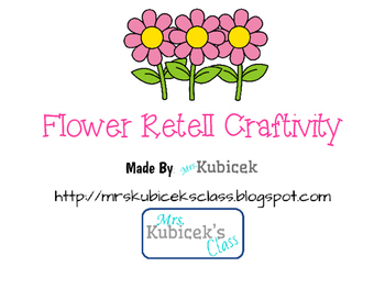 Flower Retelling Craftivity