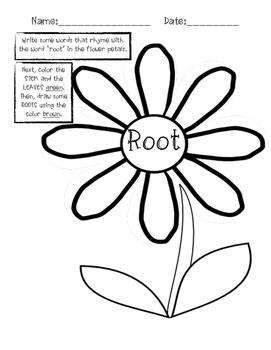 Flower Rhyming