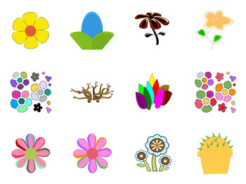 Flower SVG - Sunflowers, Roses, More - Beautiful Flower Vector Art Icons in SVG