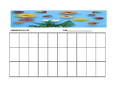 Flower Seating Chart Template for the Music Classroom