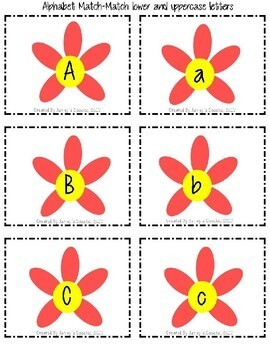 Sequence Cards (Alphabet Matching, Number Recognition, etc)