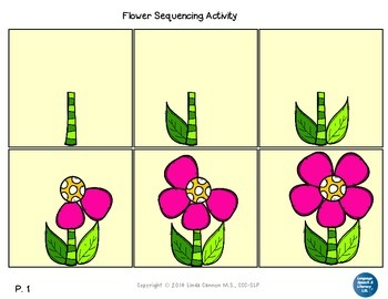 FREE Flower Sequencing Activity