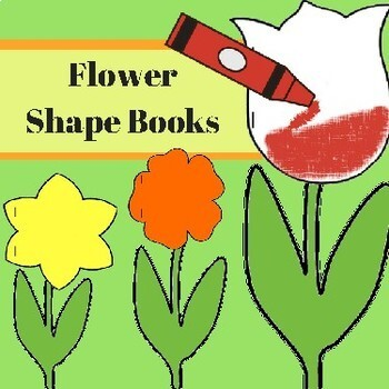 Flower Shape Book Patterns (3 patterns)