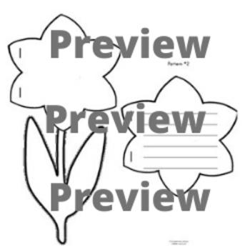 Flower Shape Book Patterns