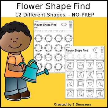 Flower Shape Find