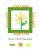 Picture-n-Frame Flower Color Sheets