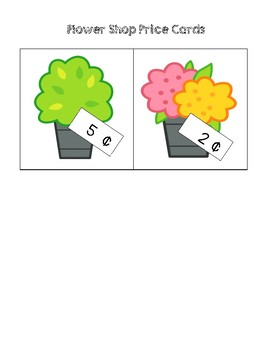 Flower Shop Calculations - Solving Money Word Problems (Cents)