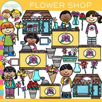 Flower Shop Clip Art