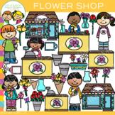 Flower Shop Kids Clip Art