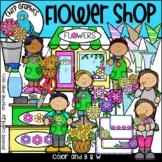 Flower Shop Clip Art Set - Chirp Graphics