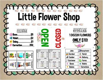 Flower Shop - Dramatic Play