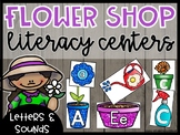 Flower Shop Dramatic Play: Alphabet and Beginning Sounds Centers