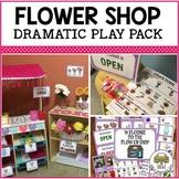 Preschool Flower Shop Dramatic Play Pack