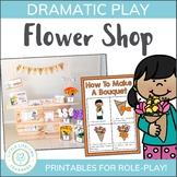 Flower Shop Dramatic Play Set