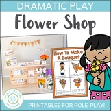 Flower Shop Dramatic Play Set