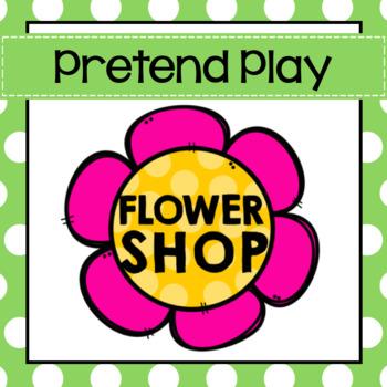 Flower Shop Pretend Play