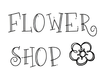 Flower Shop Resources
