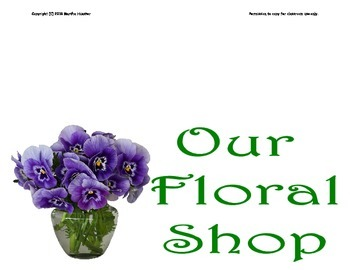Flower Shop Signs and Cards