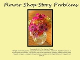 Flower Shop Story Problems - Kindergarten