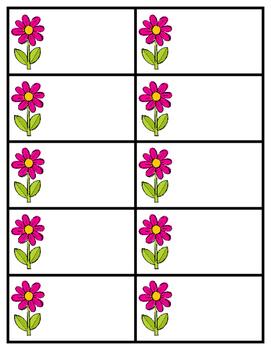 Flower Sight Word Practice - Editable