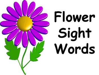 Flower Sight Words