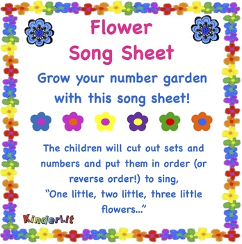 Flower Song Sheet