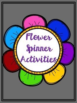 Flower Spinner Activities
