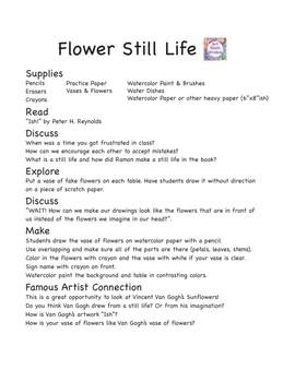 Flower Still Life Project