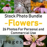 Flower Stock Photo Bunde 26 Photos for Personal and Commer