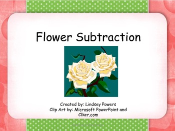 Flower Subtraction